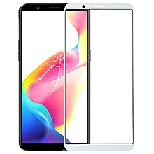 Front Screen Outer Glass Lens for OPPO R11s Plus (White)