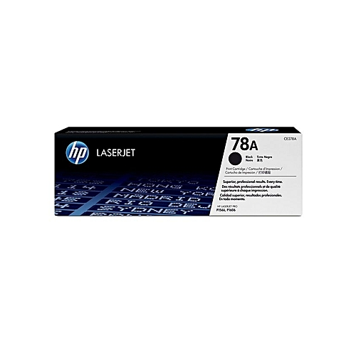 78A (CE278A) - LaserJet Toner Cartridge - Black