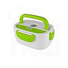 Electric Lunch Box - White & Green