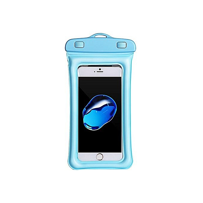check out 3b01e eb733 USAMS IPX8 Waterproof Airbag Floating Touch Screen Under Water Phone Bag  For IPhone Xiaomi