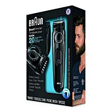 BT3020 - Cordless Beard Trimmer - Shaver - Shaving Machine for Men – Black