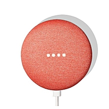Home Mini Wireless Voice Activated Speaker - Coral