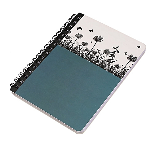 buy generic portable mini hard cover coil notebook home daily office