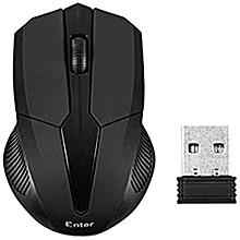 E-W55 Wireless Optical Mouse (Black)
