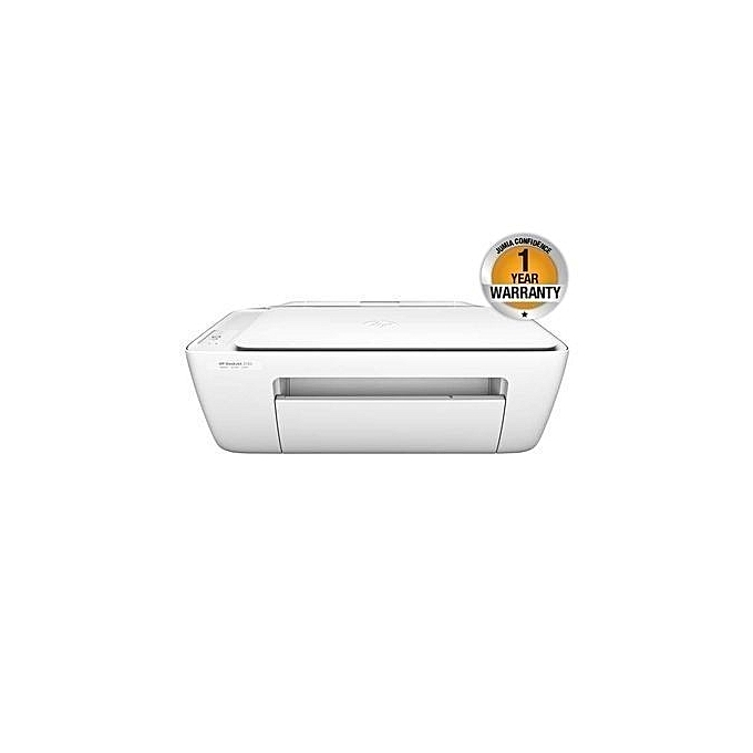 HP DeskJet 2130 All-in-One Printer - 123 Cartridge - White   Best ... 438b2055f9