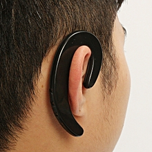 bone conduction bluetooth headset-black