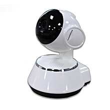 Home-Home Monitor P2P WIFI Camera 720P HD Wireless Nigh Vision Smart Baby Camera White & Black