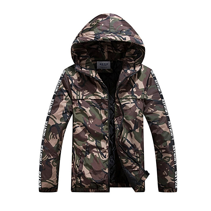 Camouflage Lightweight Short Generic Winter Men Cotton Women Jacket g4SEnPqpW
