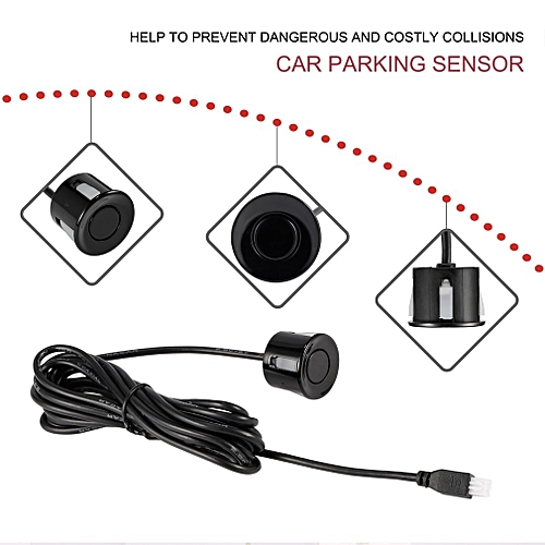 Car Parking Sensor Radar Probe Reverse Radar Sound Alert Indicator System