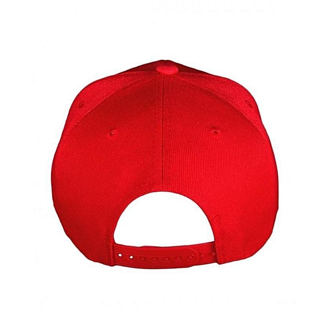 Buy Shoppers Red Plain Baseball Hat Best Price Online Jumia Kenya 0d6358d59b36