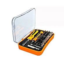 JAKEMY JM-6098 66 in 1 Handle Screwdriver Tools Screwdriver Socket Extension Bar Repair Tool
