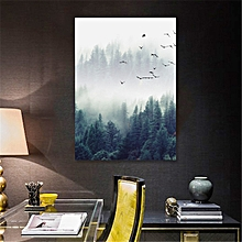 40x50cm Forest Landscape Wall Art Canvas Print Painting Poster Home Decoration No Frame-Multi
