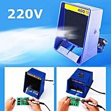 Solder Smoke Absorber Remover Fume Extractor Air Filter Fan For Soldering 220V