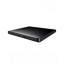 Portable USB External DVD Burner And Drive - Black