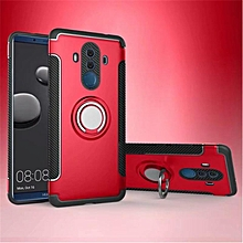KZ Slim Fit Hybrid Dual Layer Armor Shock Absorption Rugged Defender with Ring Holder Kickstand Drop Protection Soft Rubber Bumper Case Cover for Huawei Mate 10 Pro   XXZ-Z