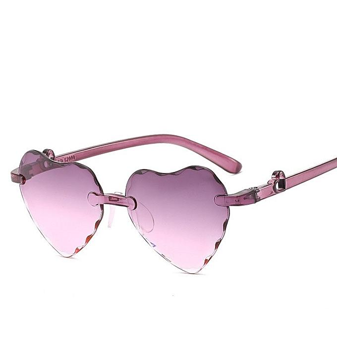 abda0dbb3b33 Generic Stylish Gradual Color Kids Sunglasses Children Cute Glasses ...