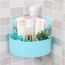 Bathroom Organizer with Suction Cups Holder -  Blue