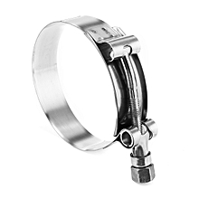 3'' 72-80mm Stainless Steel T - Bolt Hose Clamps Pipe Clip Heavy Duty Hose