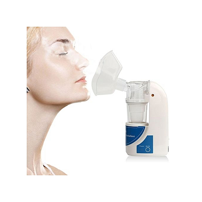Ultrasonic Nebulizer Humidifier Handheld Plastic Kit Beauty Instrument  Respirator Nebuliser Asthma Atomizer Inhaler