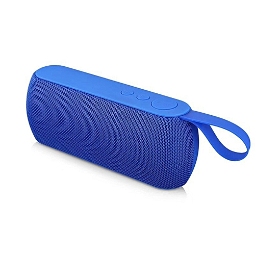 GB Bluetooth Speaker Outdoor Stereo B Wireless Subwoofer With Handle-blue - blue