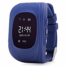 DANIU Q50 Smart Safe Kid Watch Wristwatch SOS Call Location GSM GPRS Locator Tracker  Light
