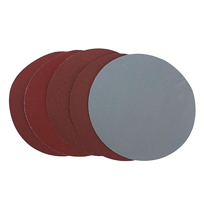 25Pcs 6/'/' Abrasive Sanding Discs Hook Loop Fit 600# 1000# 1500# 2000# 3000# Grit