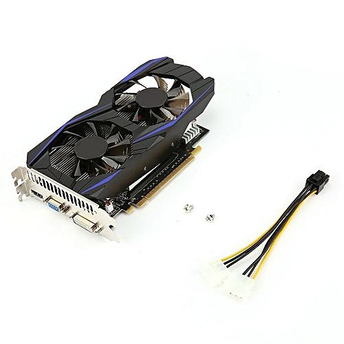 4GB DDR5 Gaming Graphics Card GTX1050TI Gaming Video Card For Desktop  Computer black