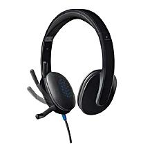 H540 USB Headphones - Black