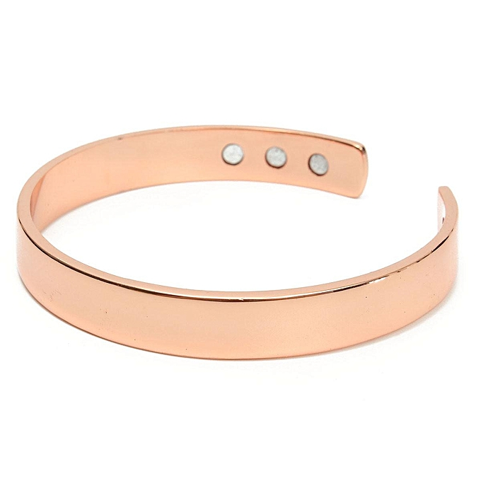 Uni Magnetic Copper Bracelet Healing Bio Therapy Arthritis Pain Relief Bangle