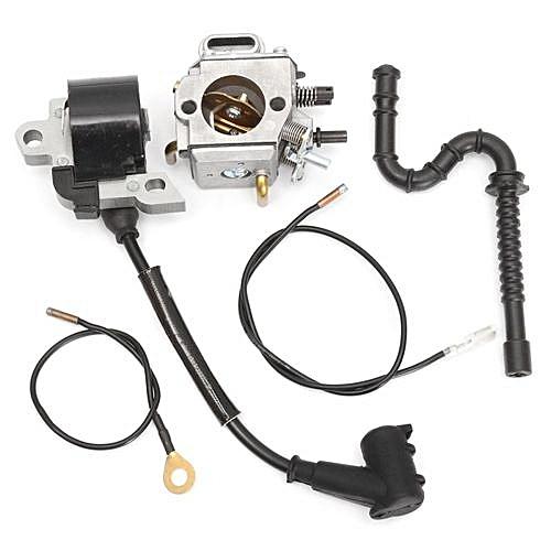 Carburetor Carb + Ignition Coil + Fuel Line For STIHL MS290 MS310 MS390 029  039
