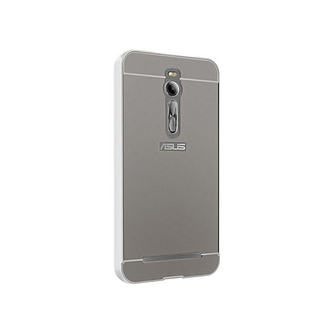 competitive price 2d795 86358 Moonmini Hard PC Cover Mirror Metal Frame Bumper Case For ASUS ZenFone 2  ZE550ML / ZE551ML 5.5 Inch (Color:c0)