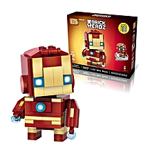 LOZ 1402 Super HeroToy 144PCs Blocks Collection Gift Small Bricks-