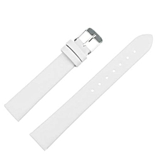 16mm Women Fashion Leather Watch Strap Watch Band  White