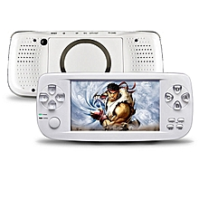 "4.3"" Screen Handheld Game Console 16GB Built-in 3000 Classic Games Retro Video Game Player Birthday Gift Presents For Kids(White)"