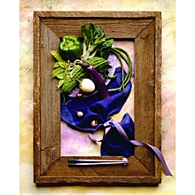 Canvas Print Still Life Wall Picture 40X50cm Rolled -  Nut Food Kitchen II