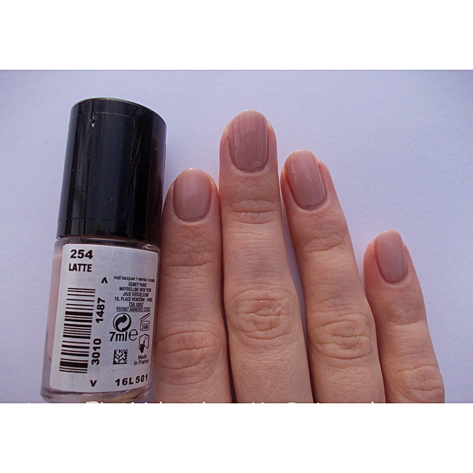 MAYBELLINE Color Show Nail Polish - 254 Latte @ Best Price Online ...