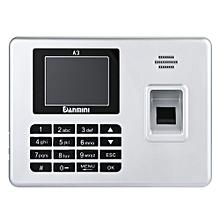 Danmini A3 Self-service Fingerprint Machine with Voice Prompt SILVER EU PLUG