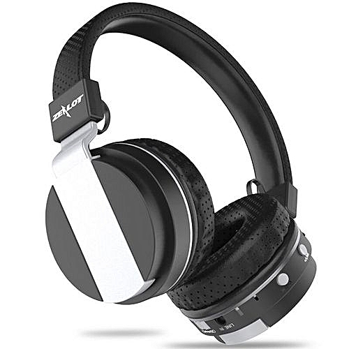 Zealot B17 Bluetooth HiFi Headset Stereo FM Radio Wireless Bluetooth Headphone High Fidelity Blutooth Headphone (Black)