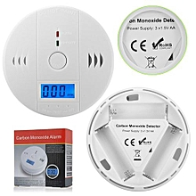bluerdream-New LCD CarboN Monoxide RoHs Poisoning Gas Warning Sensor Detector Home Safety