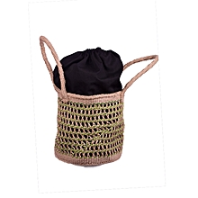 Sisal Shopping Bags With Extended Lining