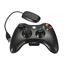 Wireless Game Remote Controller For Microsoft Xbox 360 Console (Black)