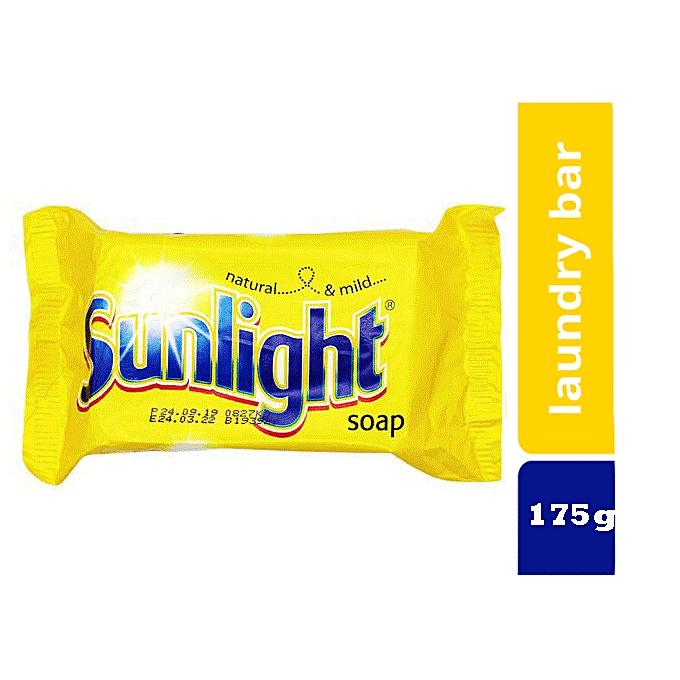 Sunlight Soap Detergent Yellow 175g Best Price Online