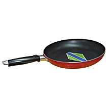Frying Pan Aluminium Non-Stick - 24cm - Red