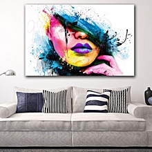 Modern Abstract Female Portrait Wall Decor Art Oil Painting On Canvas Unframe