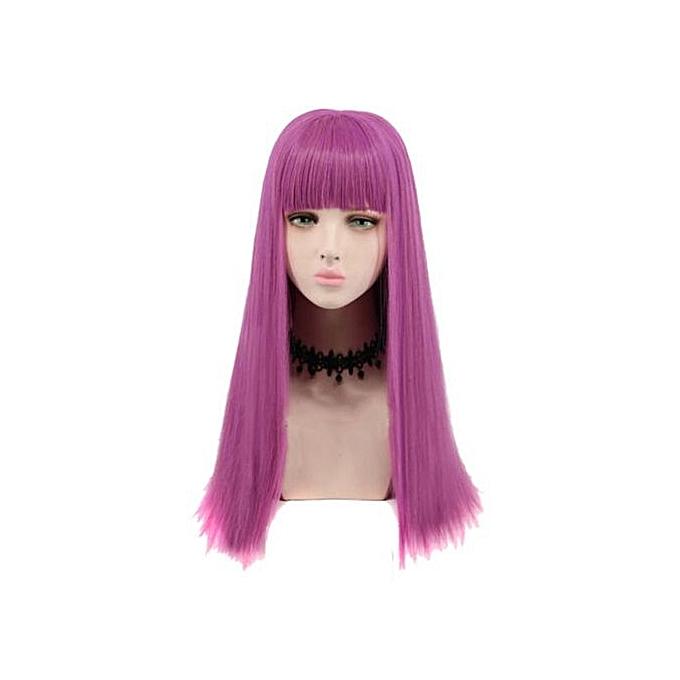 Generic Cosplay Wig Long Purple Adult Women Fashion Costume Party ... 517036de4