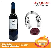 Merlot + Wine Bottle Foil Cutter Free