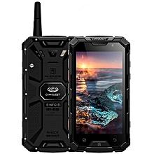 Conquest S8+, 4GB+64GB, Walkie Talkie Function, 6000mAh Battery, IP68 Waterproof Dustproof Shockproof Anti-pressure Explosion-proof, Fingerprint Identification, 5.0 inch Android 6.0 MTK6755 Octa Core up to 2.0GHz, Network: 4G, NFC, OTG, IR(Black)