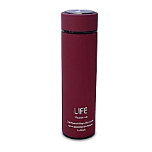 LIFE Double wall vacuum Flask- Maroon