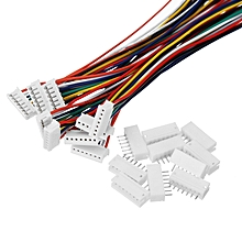 Excellway® 10PCS Mini Micro JST 1.5mm ZH-7 Pin Connector Plug Socket Wire Cable 28AWG 150mm