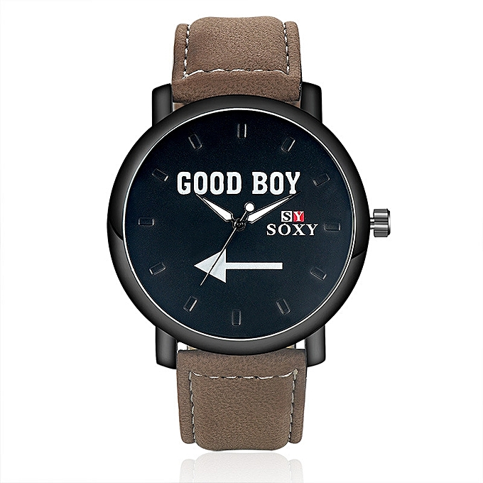 0c33cf6d2d Generic New style Watch new fashion GOOD BOY boys watch-brown-black ...